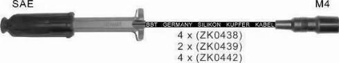 BBT ZK439 - Комплект проводов зажигания sparts.com.ua