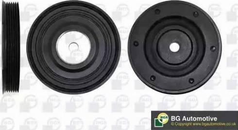 BGA DP0426 - Ременный шкив, коленчатый вал sparts.com.ua