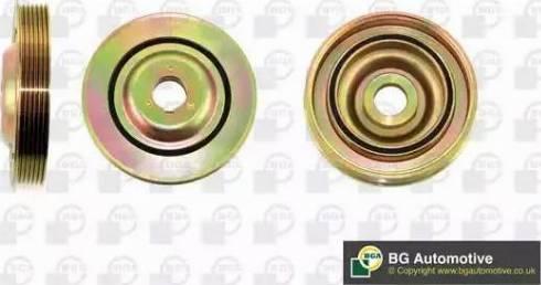 BGA DP8068 - Ременный шкив, коленчатый вал sparts.com.ua
