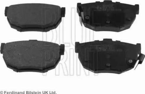 Blue Print ADG04232 - Тормозные колодки, дисковые sparts.com.ua