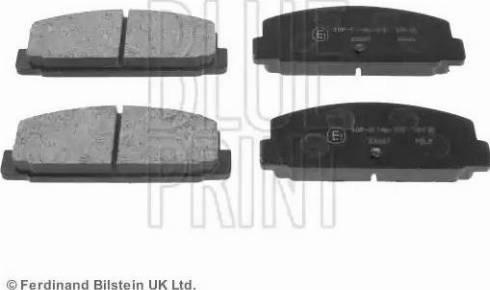 Blue Print ADM54248 - Тормозные колодки, дисковые sparts.com.ua
