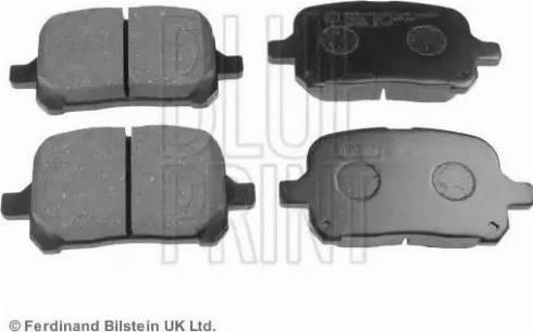Blue Print ADT34290 - Тормозные колодки, дисковые sparts.com.ua