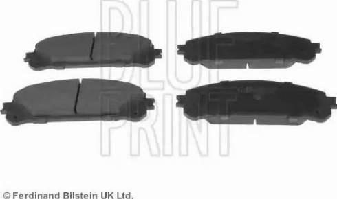 Blue Print ADT342190 - Тормозные колодки, дисковые sparts.com.ua