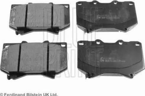Blue Print ADT342117 - Тормозные колодки, дисковые sparts.com.ua