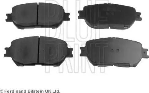 Blue Print ADT342130 - Тормозные колодки, дисковые sparts.com.ua