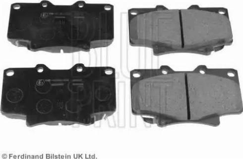 Blue Print ADT342124 - Тормозные колодки, дисковые sparts.com.ua