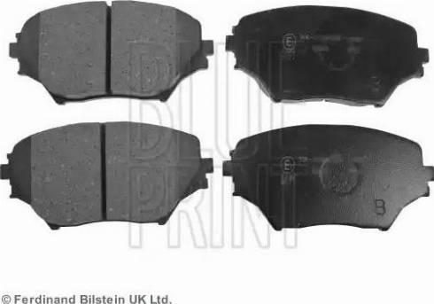 Blue Print ADT342120 - Тормозные колодки, дисковые sparts.com.ua