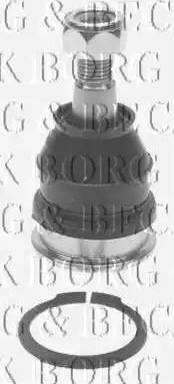 Borg & Beck BBJ5390 - Шаровая опора, несущий / направляющий шарнир sparts.com.ua