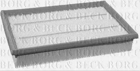 Borg & Beck BFA2004 - Воздушный фильтр sparts.com.ua