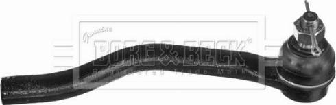 Borg & Beck BTR6014 - Наконечник рулевой тяги, шарнир sparts.com.ua