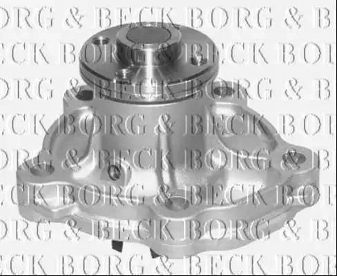 Borg & Beck BWP2118 - Водяной насос sparts.com.ua
