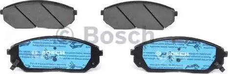 BOSCH 0 986 494 143 - Тормозные колодки, дисковые sparts.com.ua
