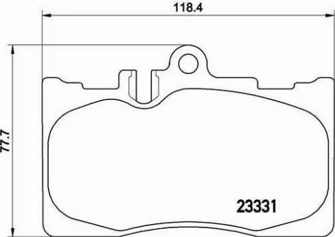 Brembo P 83 058 - Тормозные колодки, дисковые sparts.com.ua