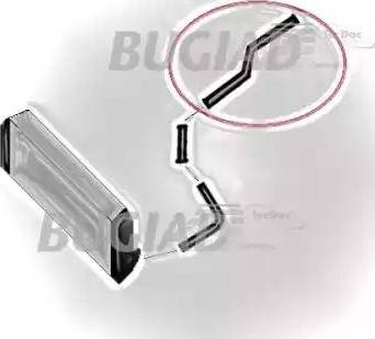 Bugiad 81604 - Трубка нагнетаемого воздуха sparts.com.ua
