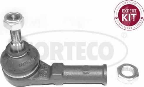 Corteco 49398559 - Наконечник рулевой тяги, шарнир sparts.com.ua