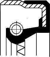 Corteco 01025620B - Уплотняющее кольцо, дифференциал sparts.com.ua