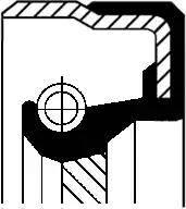 Corteco 01027959B - Уплотняющее кольцо, раздаточная коробка sparts.com.ua