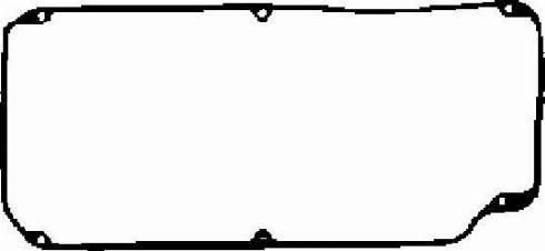 Corteco 026821P - Прокладка, крышка головки цилиндра sparts.com.ua