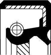 Corteco 19026785B - Уплотняющее кольцо, раздаточная коробка sparts.com.ua