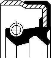 Corteco 01029717B - Уплотнительное кольцо, система тяг и рычагов sparts.com.ua