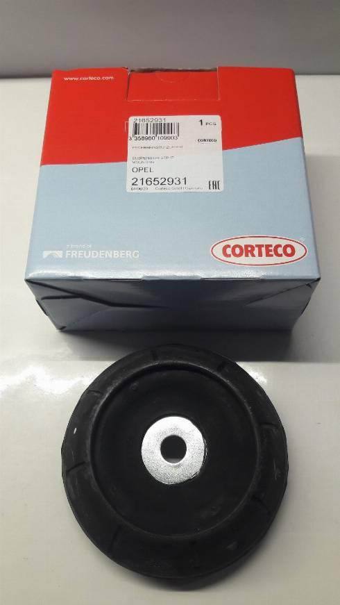 Corteco 21652931 - Опора стойки амортизатора, подушка sparts.com.ua