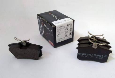 Dafmi D481E - Тормозные колодки, дисковые sparts.com.ua