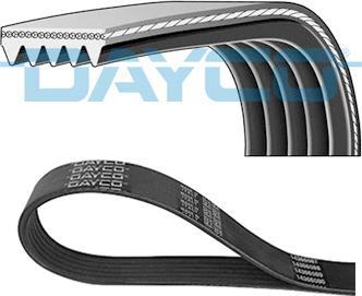 Dayco 5PK1000 - Поликлиновые ремни (продолные рёбра) sparts.com.ua