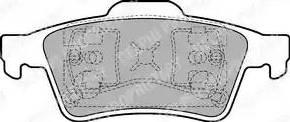 Delphi LP1701 - Тормозные колодки, дисковые sparts.com.ua