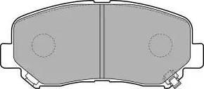 Delphi LP2481 - Тормозные колодки, дисковые sparts.com.ua
