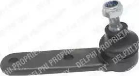 Delphi TC1181 - Шаровая опора, несущий / направляющий шарнир sparts.com.ua