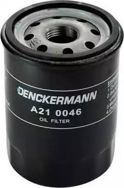 Denckermann A210046 - Масляный фильтр sparts.com.ua