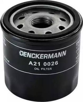 Denckermann A210026 - Масляный фильтр sparts.com.ua