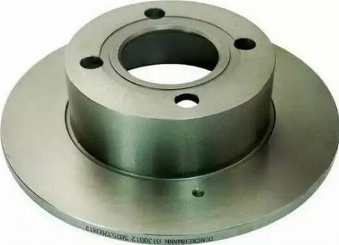 Denckermann B130012 - Тормозной диск sparts.com.ua