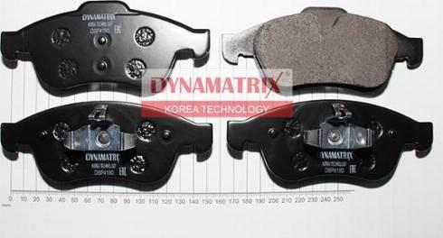 Dynamatrix DBP4180 - Тормозные колодки, дисковые sparts.com.ua