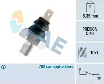 FAE 11070 - Датчик давления масла sparts.com.ua