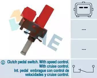 FAE 24845 - Выключатель, привод сцепления (Tempomat) sparts.com.ua