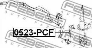 Febest 0523-PCF - Тяга / стойка, стабилизатор sparts.com.ua