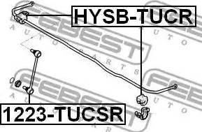 Febest 1223-TUCSR - Тяга / стойка, стабилизатор sparts.com.ua