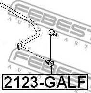 Febest 2123-GALF - Тяга / стойка, стабилизатор sparts.com.ua