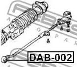 Febest DAB-002 - Подвеска, рулевое управление sparts.com.ua