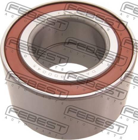 Febest DAC42800045 - Подшипник ступицы колеса sparts.com.ua