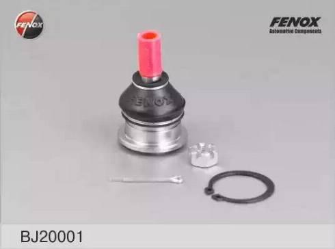 Fenox BJ20001 - Шаровая опора, несущий / направляющий шарнир sparts.com.ua