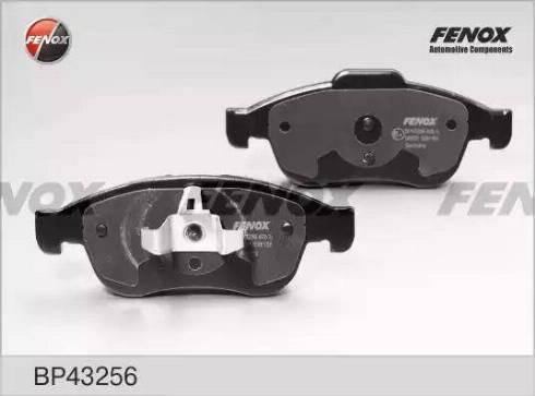 Fenox BP43256 - Тормозные колодки, дисковые sparts.com.ua