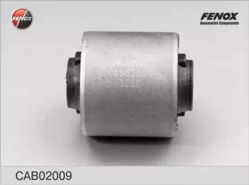 Fenox CAB02009 - Сайлентблок, рычаг подвески колеса sparts.com.ua