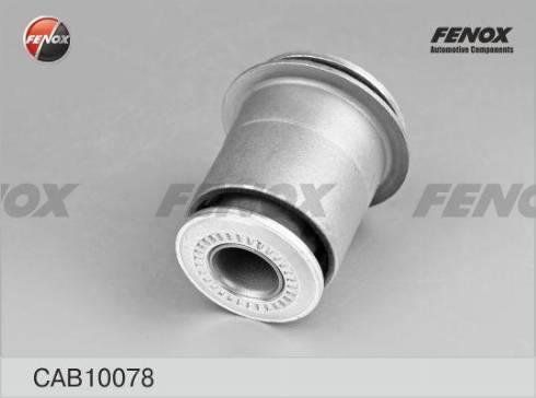 Fenox CAB10078 - Сайлентблок, рычаг подвески колеса sparts.com.ua