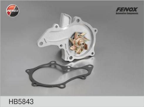 Fenox HB5843 - Водяной насос sparts.com.ua