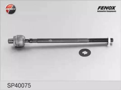 Fenox SP40075 - Осевой шарнир, рулевая тяга sparts.com.ua