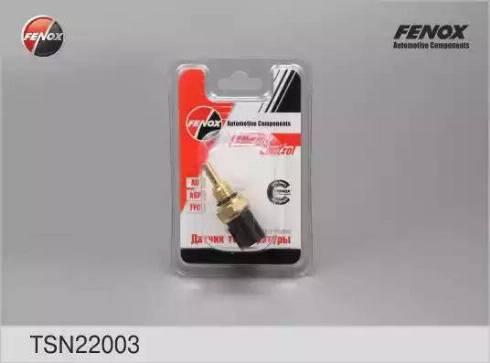 Fenox TSN22003 - Датчик, температура охлаждающей жидкости sparts.com.ua