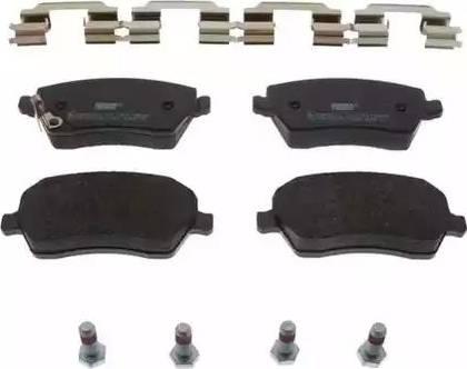 Ferodo FDB4069 - Тормозные колодки, дисковые sparts.com.ua