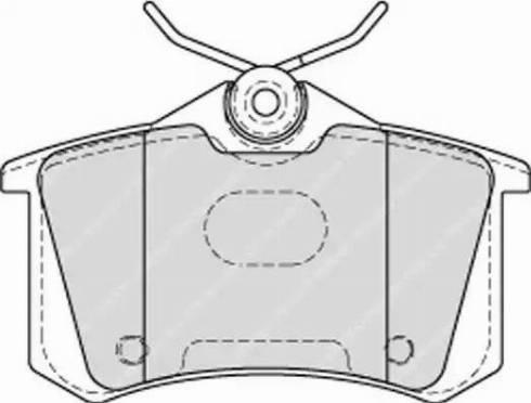 Ferodo FDB4178 - Тормозные колодки, дисковые sparts.com.ua